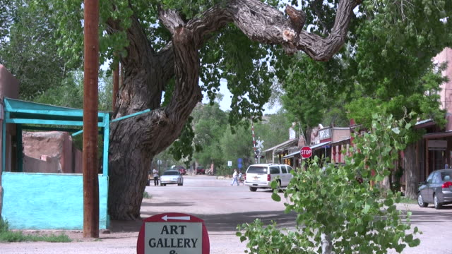 (HD1080i) American Southwest - Dusty Small Town Retail Activity video