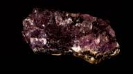 Amethyst Mineral video