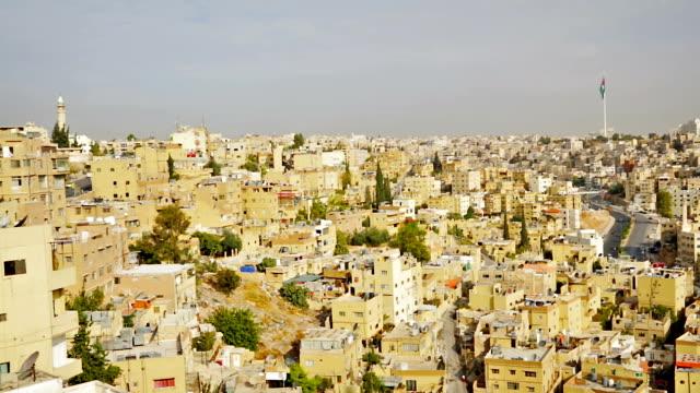 Amman from Al-Qasr site - Capital of Jordan video