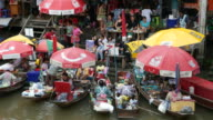 Amphawa Floating Market, Thailand video