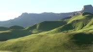 Amphitheatre area of Drakensberg mountains,South Africa video