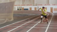 Amputee Athlete Preparing for Paralympics video