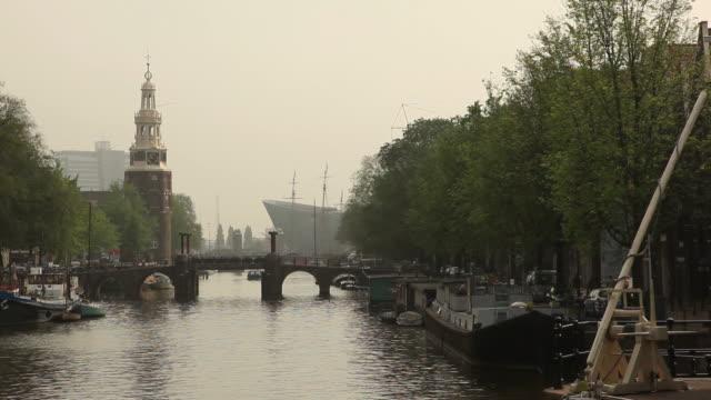 Amstel river, Amsterdam video