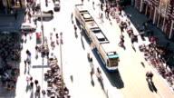 Amsterdam aerial view video