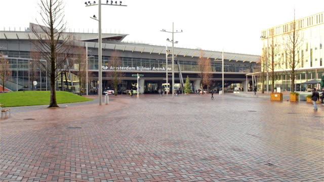 Amsterdam Bijlmer train station video