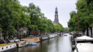 Amsterdam canal boat video