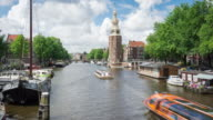 Amsterdam canal Oudeschans video