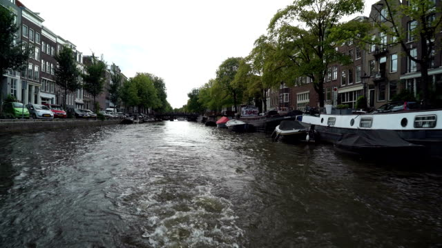 Amsterdam Canal Reverse video