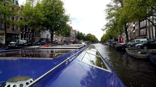 Amsterdam Canal Ride POV video
