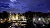 Amsterdam Night Time Lapse video