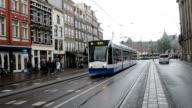 Amsterdam tram video