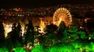 TIMELAPSE: Amusement park in Izmir video