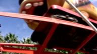 Amusement park ride video