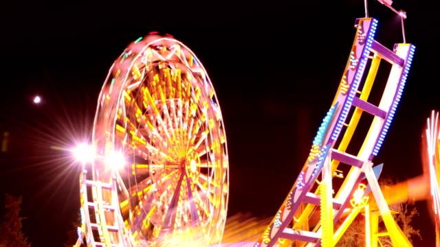 TIMELAPSE: Amusement park video