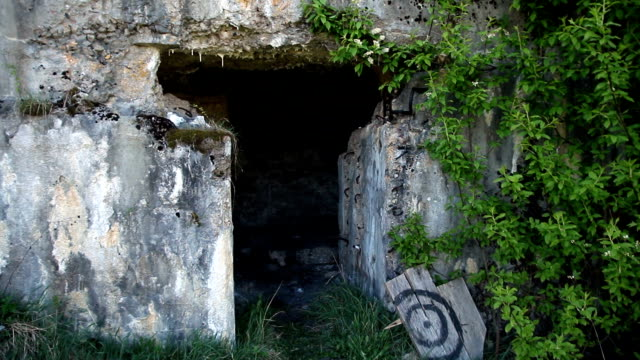 an abandoned military facility video