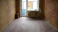 An empty room before recondition 15 video