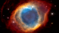 An Illustration of Helix Nebula in Outer Space video