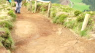 An Old Man Walking from the Sete Cidades video
