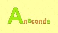 Anaconda. English ZOO Alphabet - letter A video