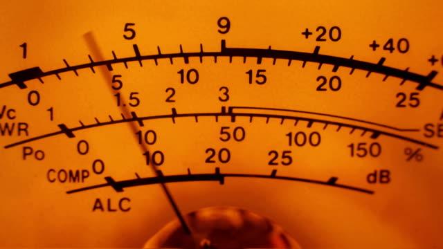 Analog Dial Signal Indicator video