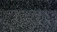 Analog TV CRT kinescope noise video