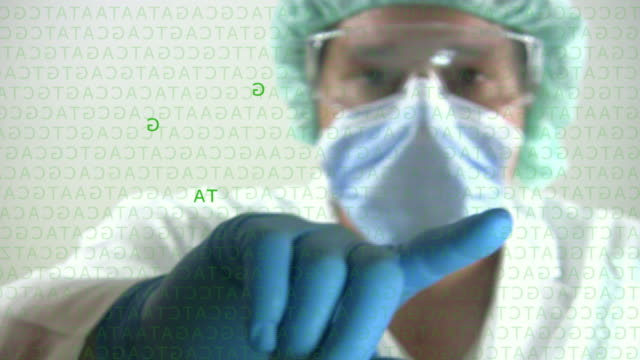 Analyzing Genetic Research DNA video