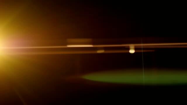Anamorphic lens fare. video
