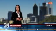 HD: Anchor Brings The Latest Business News video