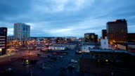 Anchorage Alaska Day to Night Timelapse video