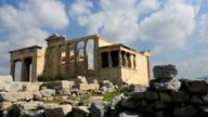 Ancient Acropolis in Athens Greece video