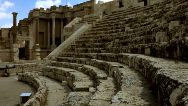 Ancient amphitheater video