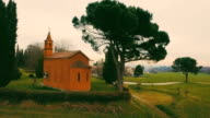 Ancient Church in the Countryside video