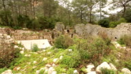ancient city of Olympos video