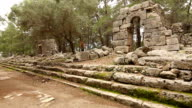 ancient city of Phaselis video
