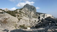 ancient city of Termessos  time lapse video