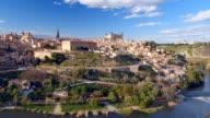 Ancient city Toledo in Castilla la Mancha video