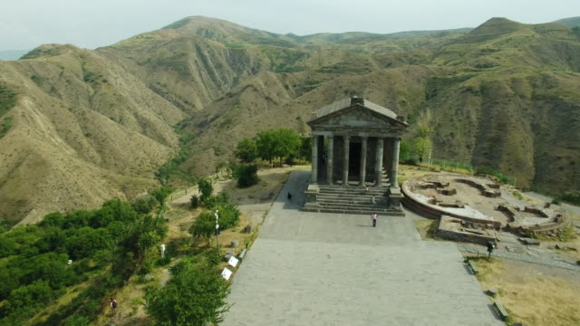 Ancient Garni Pagan Temple, the hellenistic temple in Republic of Armenia. video