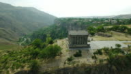 Ancient Garni Pagan Temple, the hellenistic temple in Republic of Armenia. video