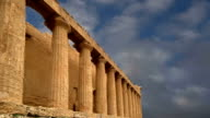 Ancient Greek temple of Concordia (V-VI century BC), Valley of the Temples, Agrigento, Sicily. The area was included in the UNESCO Heritage Site list in 1997 video
