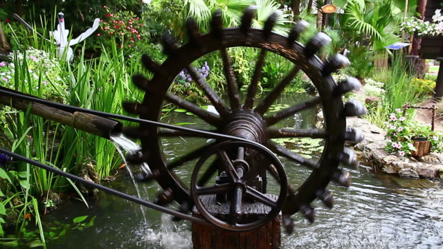 ancient hydro turbine generator video
