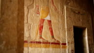 Ancient Relief of Anubis from Hatshepsut's Temple Egypt video
