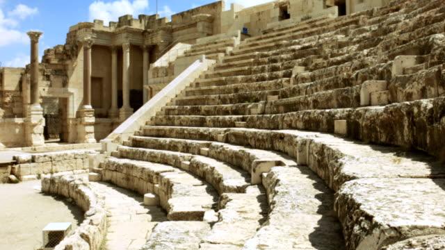 Ancient Roman amphitheater video