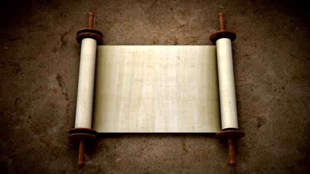 Ancient Scrolls video