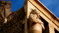 Ancient Sculpture from Hatshepsut's Temple Egypt video