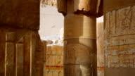 Ancient Sculpture of Hatshepsut from Hatshepsut's Temple Egypt video