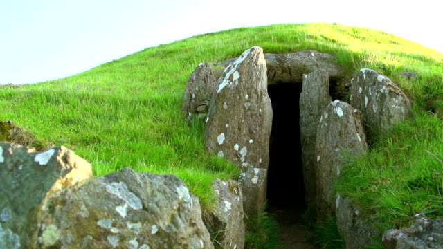 Ancient Stone Circle And Burial Chamber In UK video