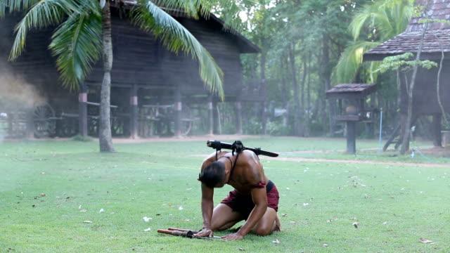 Ancient thai warrior video