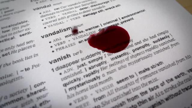 VANDALISM and Blood video