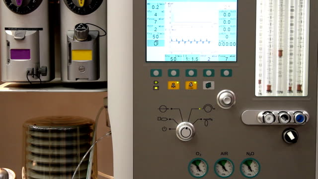 Anesthesia machine (HD) video