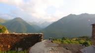 Aneto mountain range time lapse 4K video